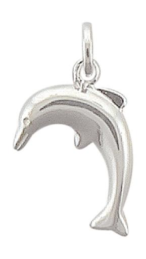 hanger dolfijn zilver