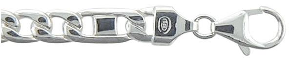 fantasie armband zilver