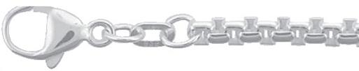 rond venetiaans armband zilver