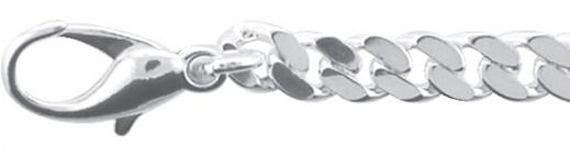 plat gourmet collier zilver