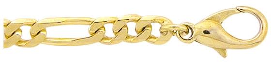 figaro armband goud