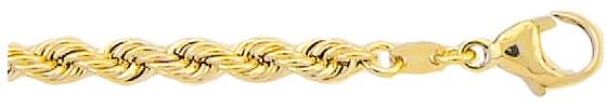 koord armband goud