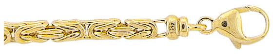 koningscollier armband goud