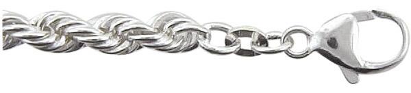 koord armband zilver