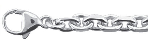 anker collier zilver