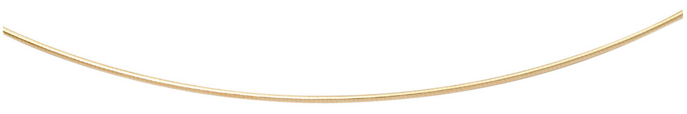 halsspang - rond omega collier goud