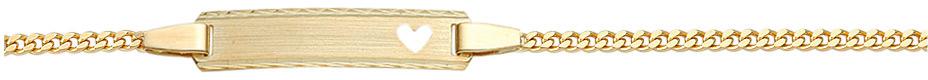 naamplaatband plat gourmet goud