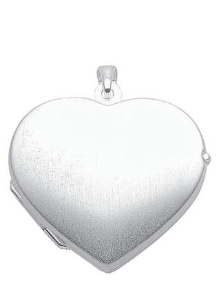 medallion hartje zilver