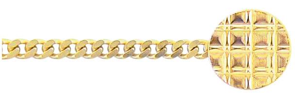 plat gourmet knop collier van double