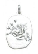 sterrenbeeld hanger zilver