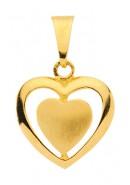 hanger hartjes goud