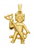 hanger duivel goud